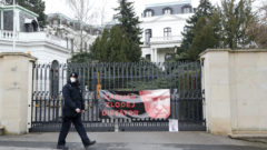 ruská ambasáda rusko putin