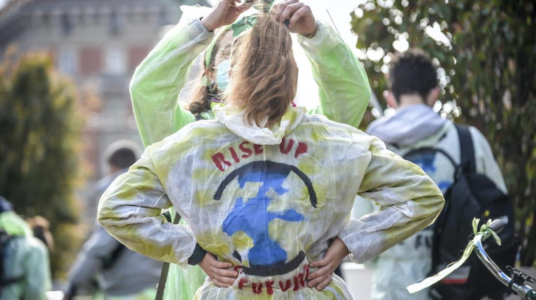 klíma ekológia protest