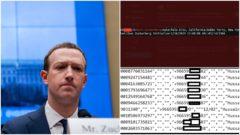 zuckerberg únik dát facebook