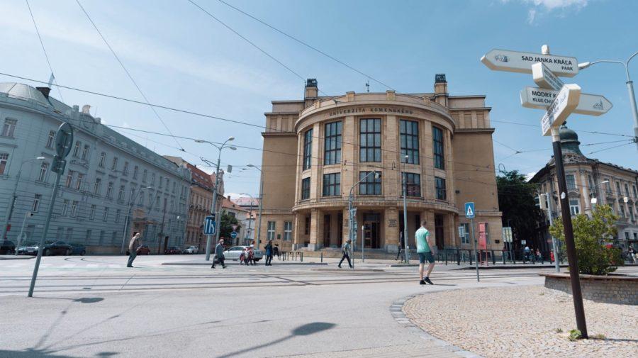 Univerzita Komenského Slovensko rebríček