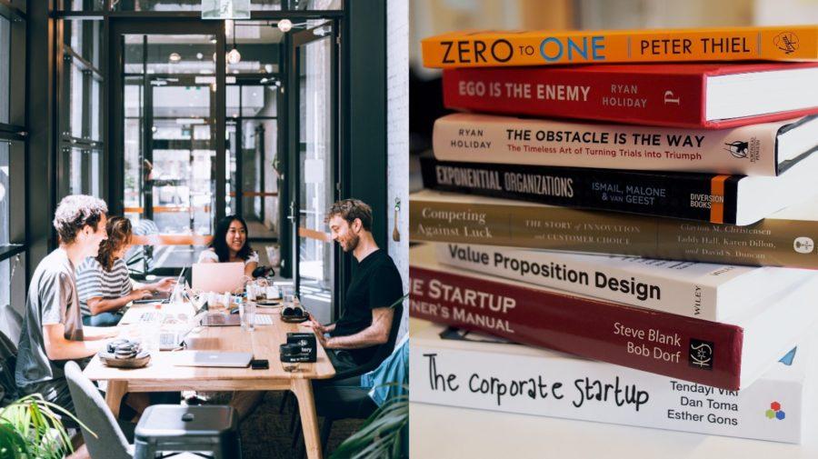 knihy startup kancelaria