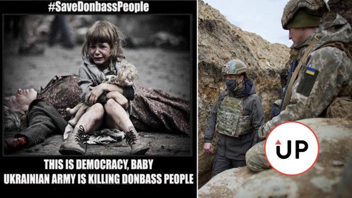Propaganda Rusko Ukrajina