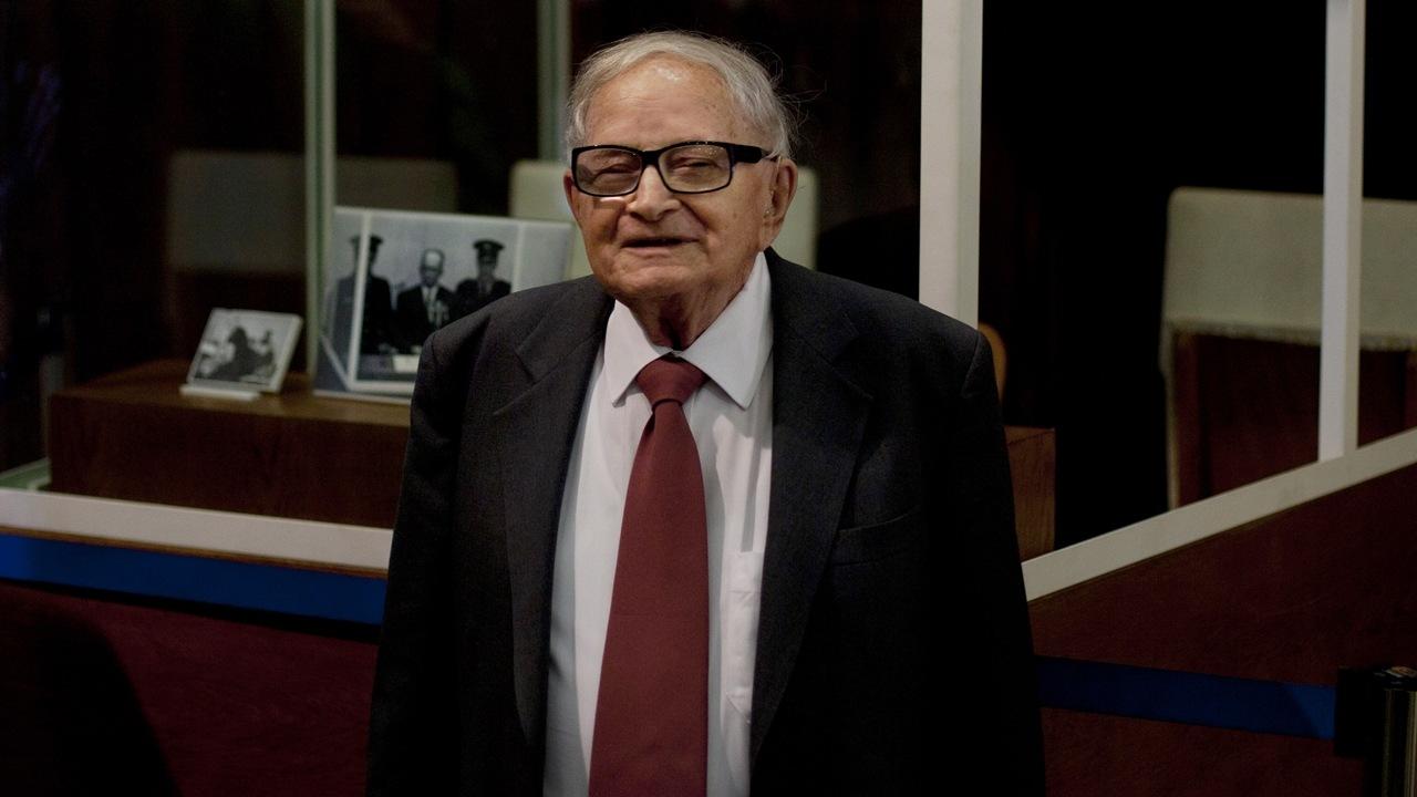 TASR/AP/Sebastian Scheiner. Bývalý izraelský politik a dôstojník tajnej služby Rafael Eitan