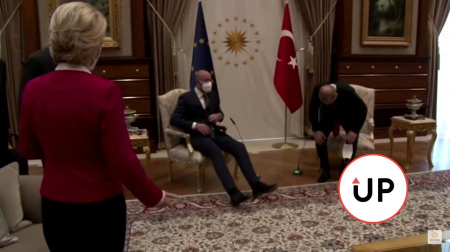 Turecko EÚ Michel Leyenová Erdogan