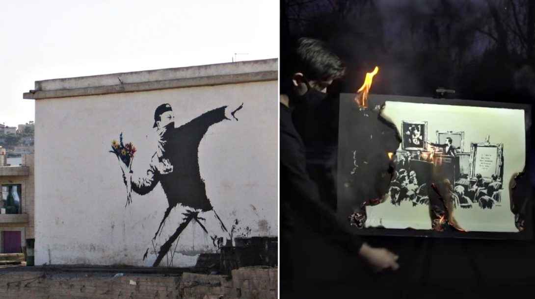 Banksy umelecké diela
