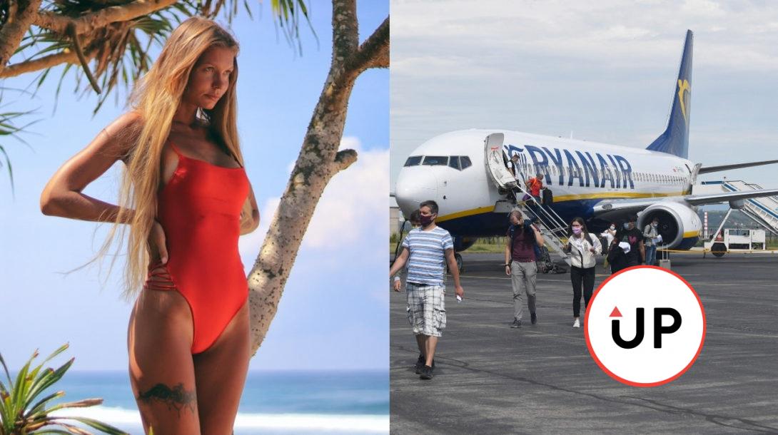 dovolenka, dievča, pláž, cestovanie, leto