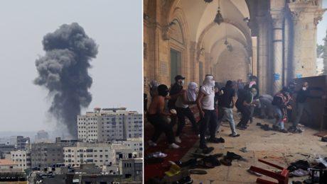 Izrael Palestína nepokoje
