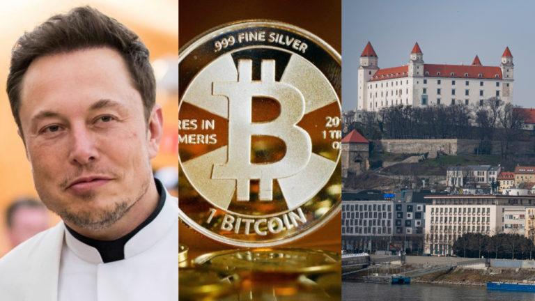 musk, bitcoin, bratislava