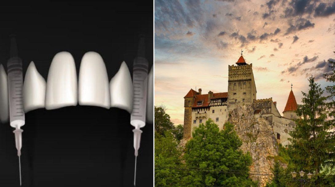upir, hrad bran