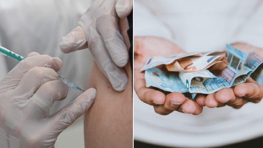 peniaze, očkovanie