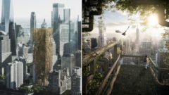 Living Skyscraper For New York City/eVolo