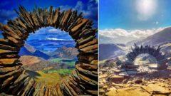 kruhy, kameň