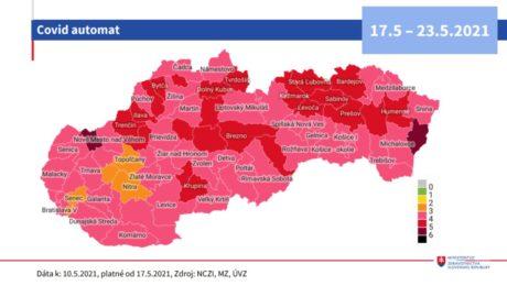 covid automat covid-19 koronavírus slovensko