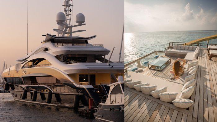 jachta oceán vybavenie luxus bohatstvo