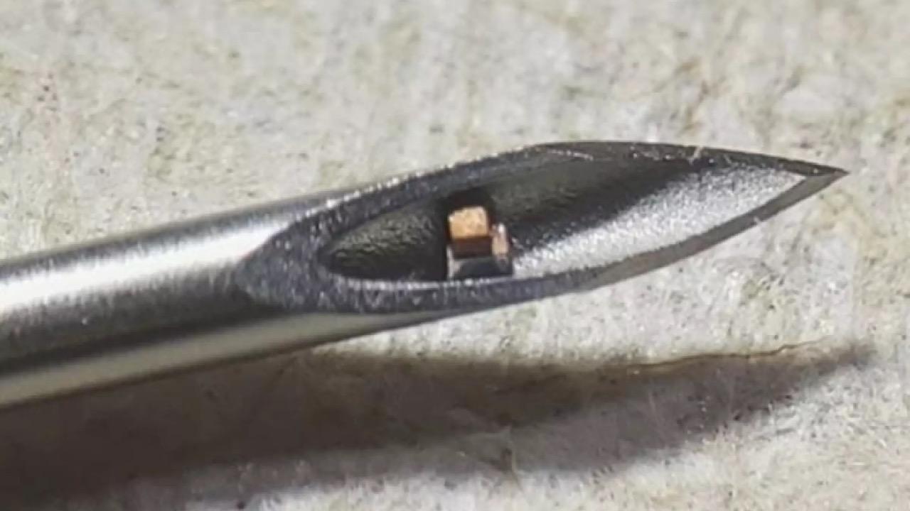 čip mikročip sonda meranie telo