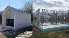 rodinné domy oceľ oceľová konštrukcia bývanie architektúra