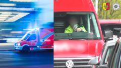polícia nehoda