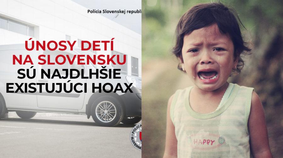 biela dodávka, hoax, plačúce dieťa