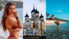 dievca, zena, plaz, dovolenka