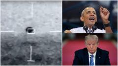 UFO, Obama, Trump