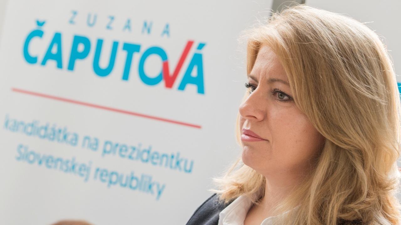 čaputová, prezidentka