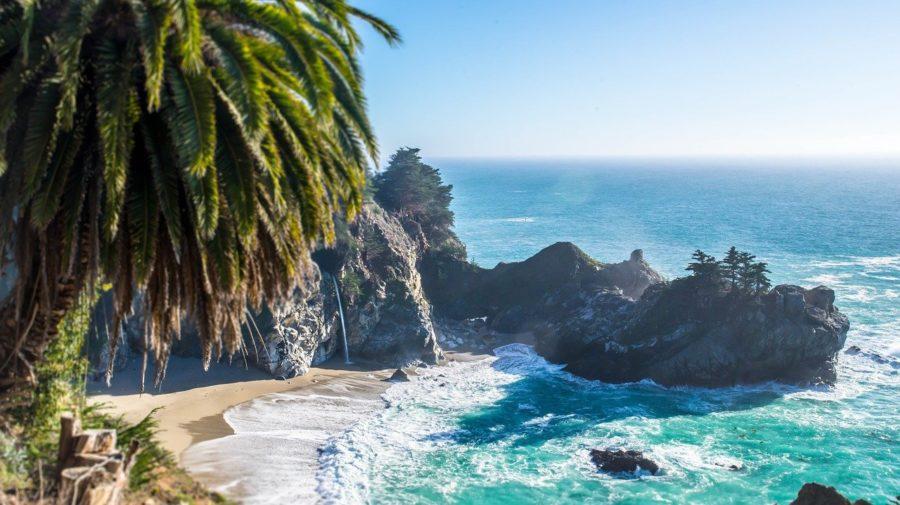 ostrov, pláž