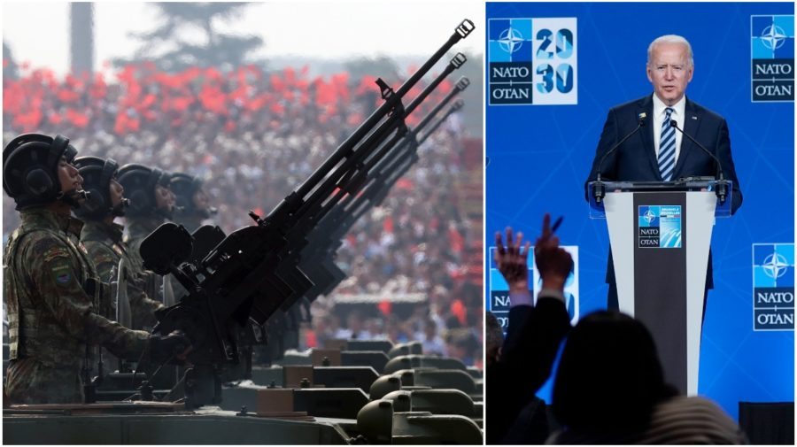 Čína NATO Biden