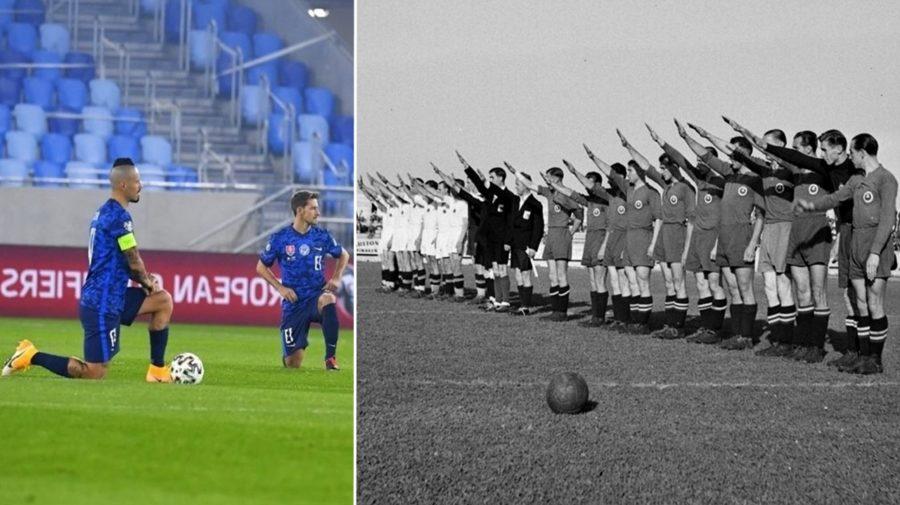 hajlovanie na futbale slovenská repzrentácia