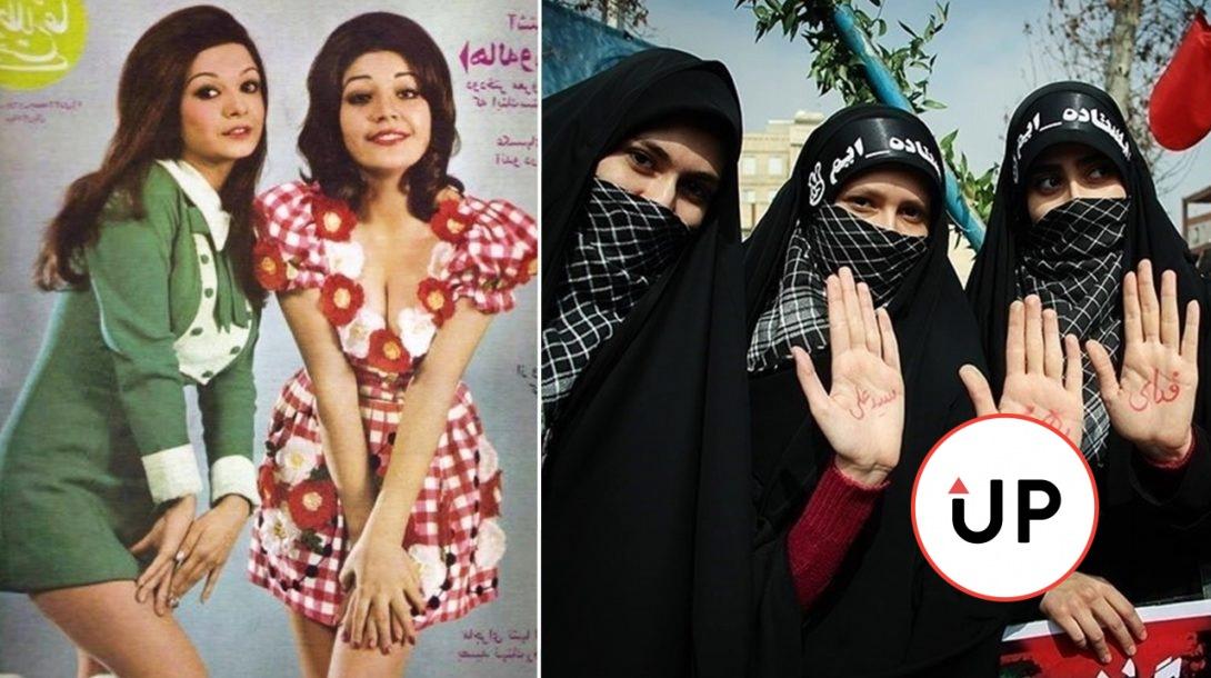 Iránky pred a po revolúcii