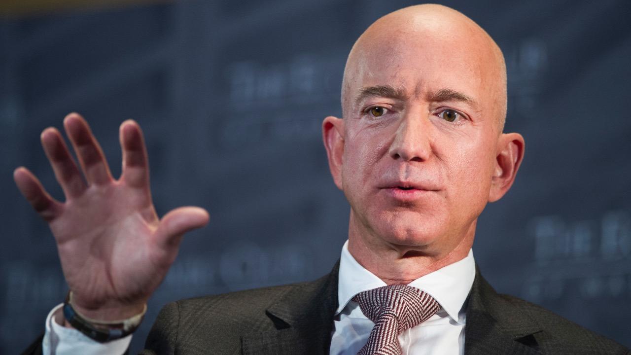 Jeff Bezos USA bohatstvo