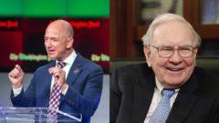 Jeff Bezos Warren Buffett USA bohatstvo