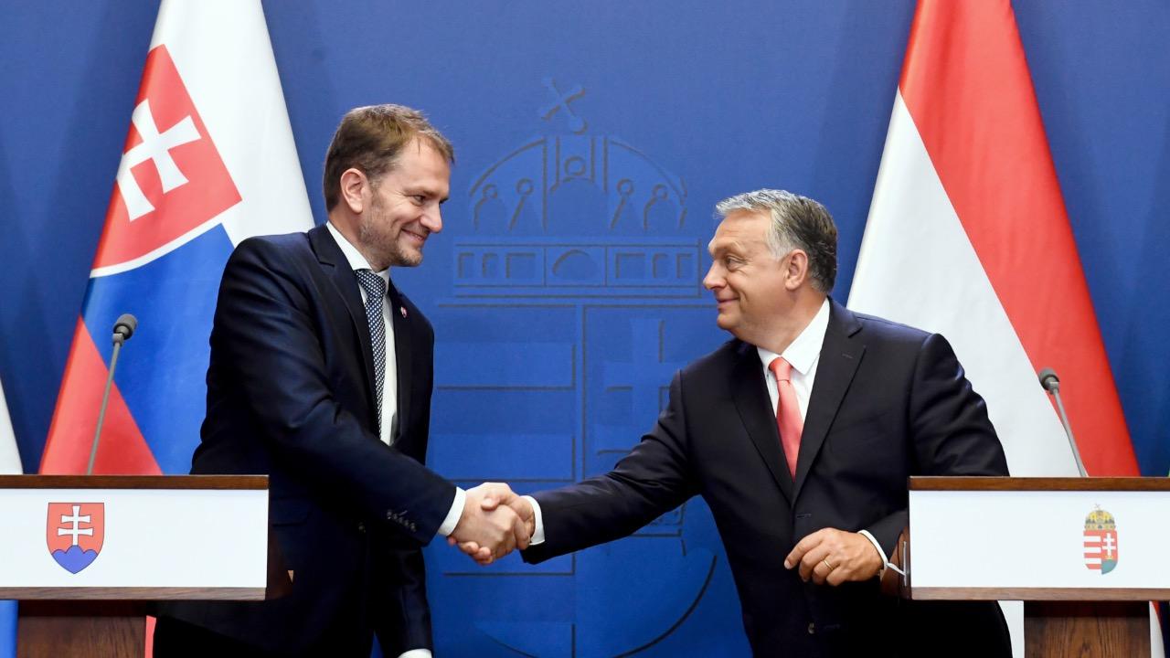 Igor Matovič Viktor Orbán