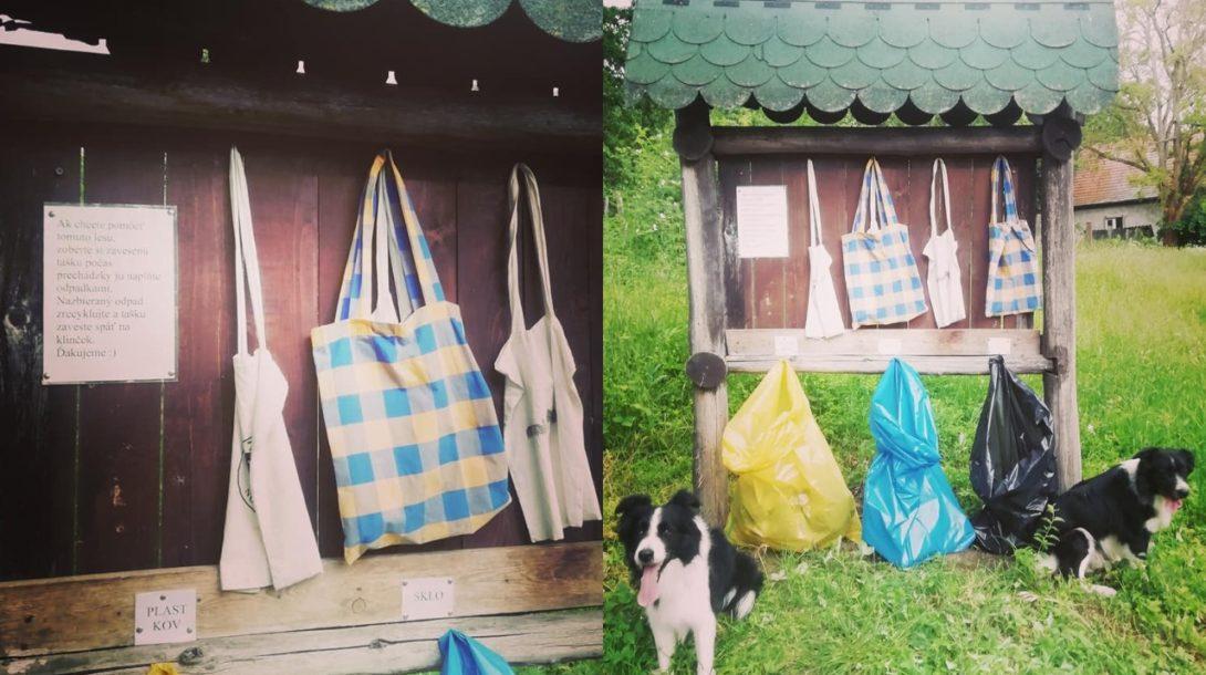 tašky recyklácia príroda