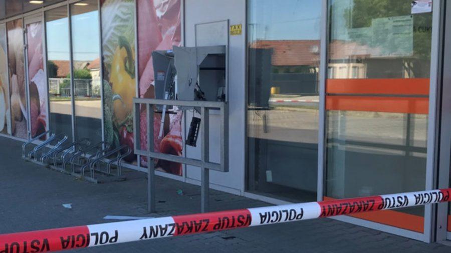Šoporňa Slovensko bankomat krádež
