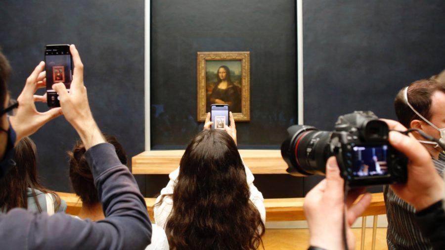 Mona Lisa Louvre umenie obraz