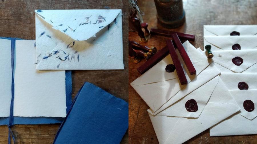 výroba papiera