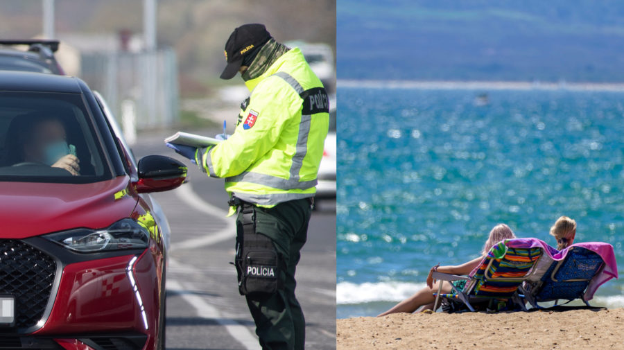 policia, dovolenka