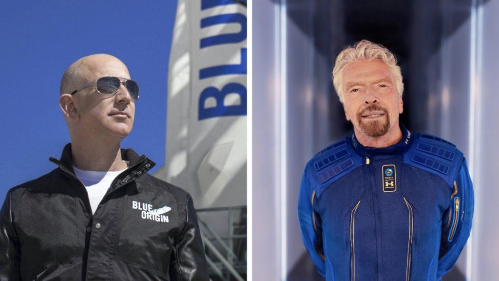 Безос и Брэнсон отправляются в космос