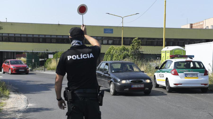 hranica polícia kontrola