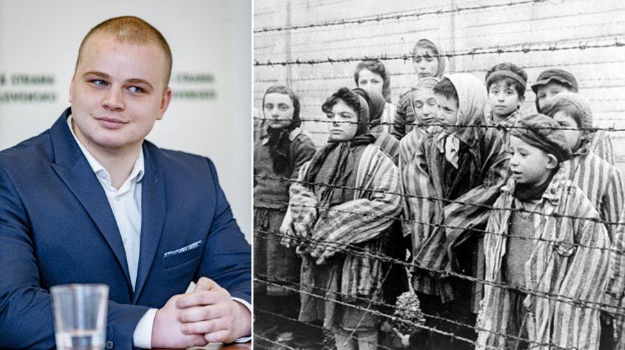 Milan Mazurek holokaust