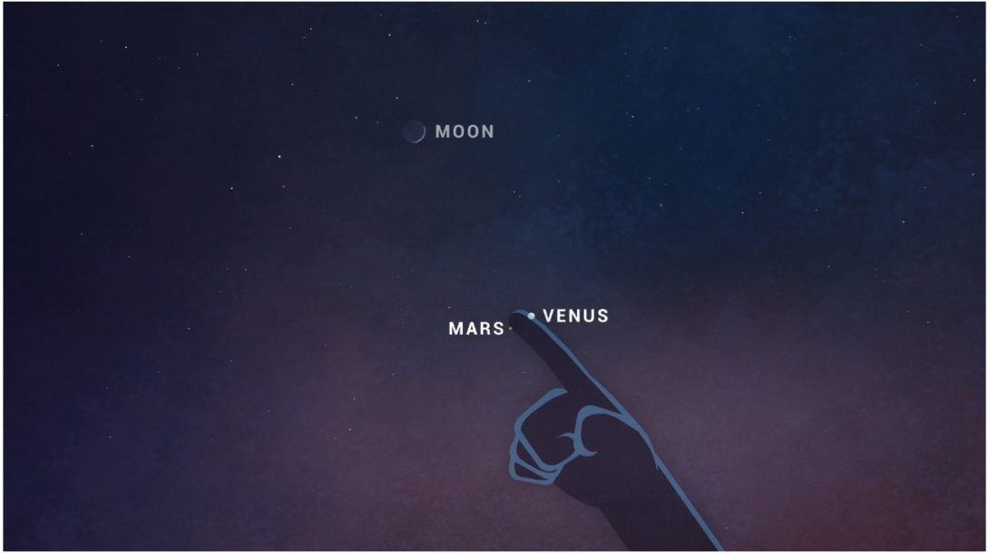 NASA Mars, Venuša, Mesiac