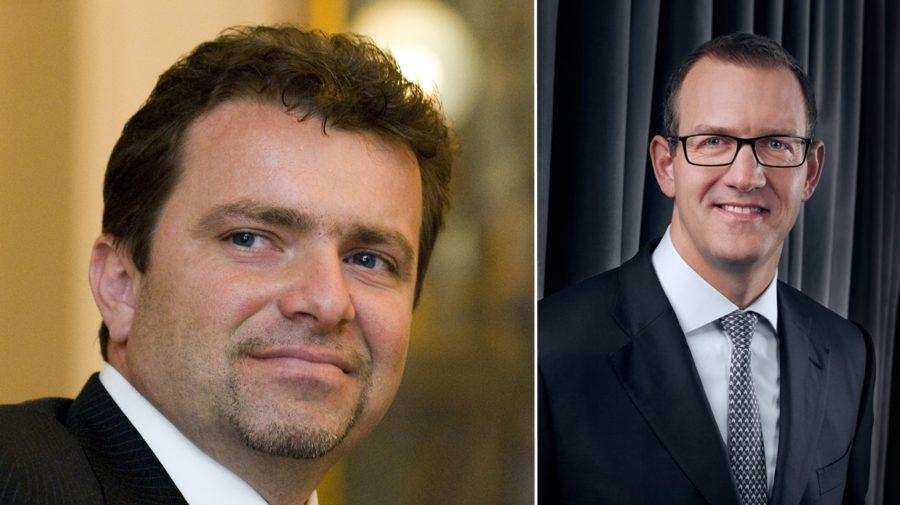 Patrik Tkáč a Daniel Křetinský