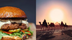 Burger, Egypt