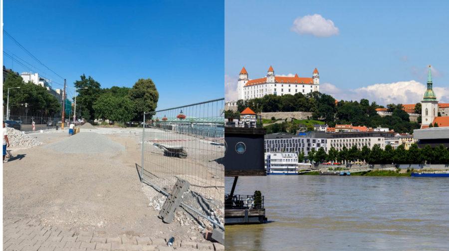 Bratislava, Prior, Propeller, dlažba