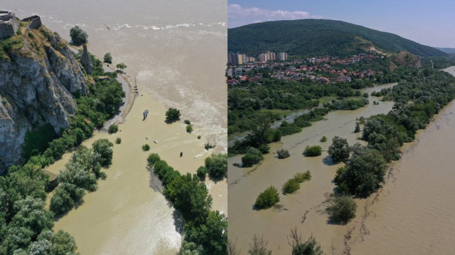 Dunaj, záplavy