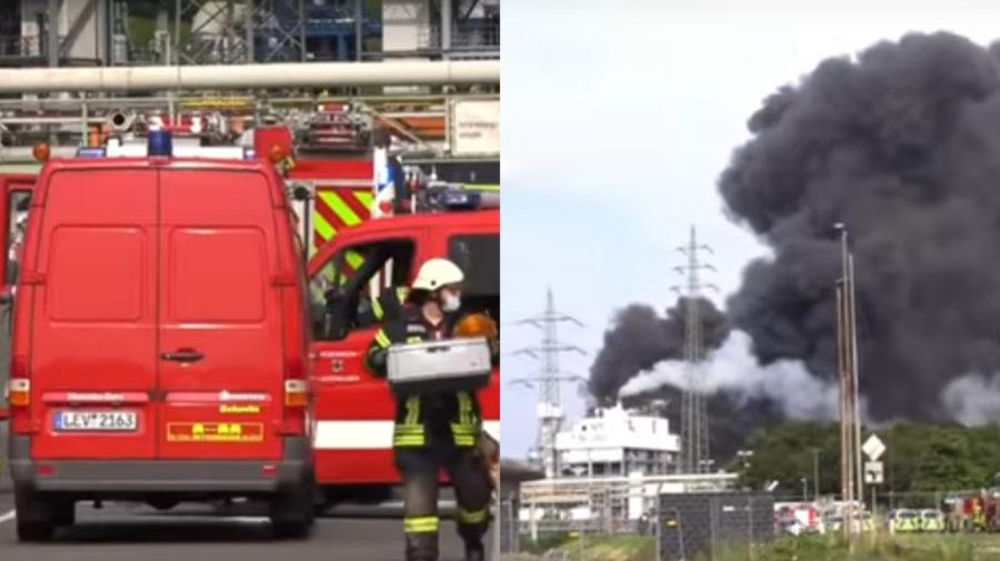 výbuch, Nemecko