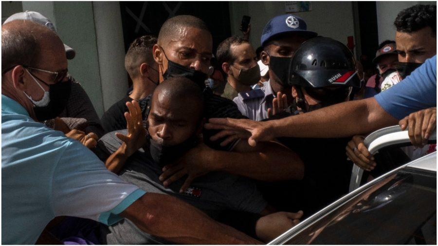 Protesty Kuba