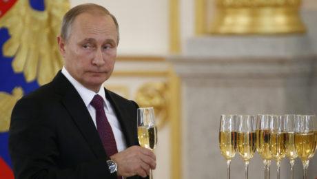 rusko putin šampanské