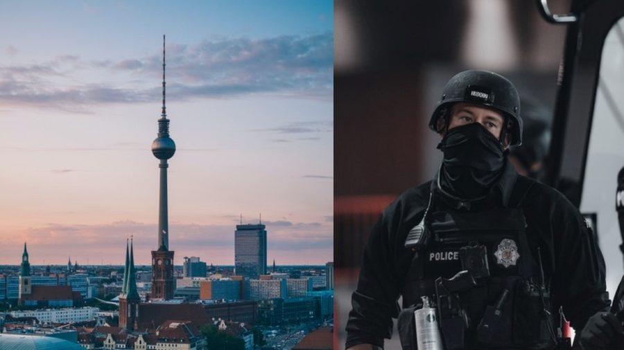 Berlin protesty