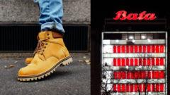 Vasky topánky, Baťa obchod